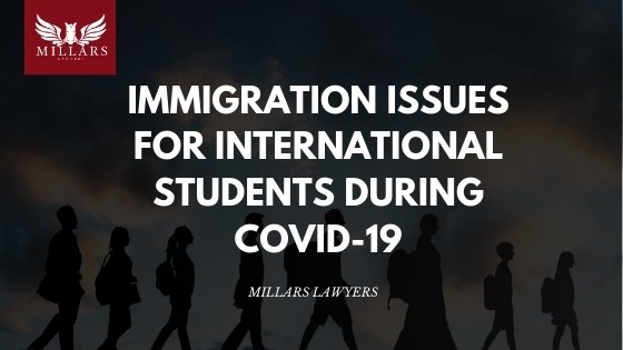 Immigration Issues for International Students During COVID-19