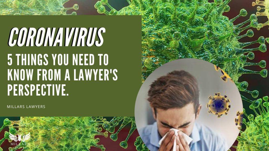 Coronavirus: 5 Things You Need to Know From a Lawyer's Perspective