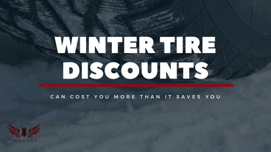 Winter Tire Discounts Can Cost You More Than It Saves You