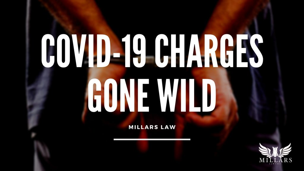 COVID-19 Charges Gone Wild