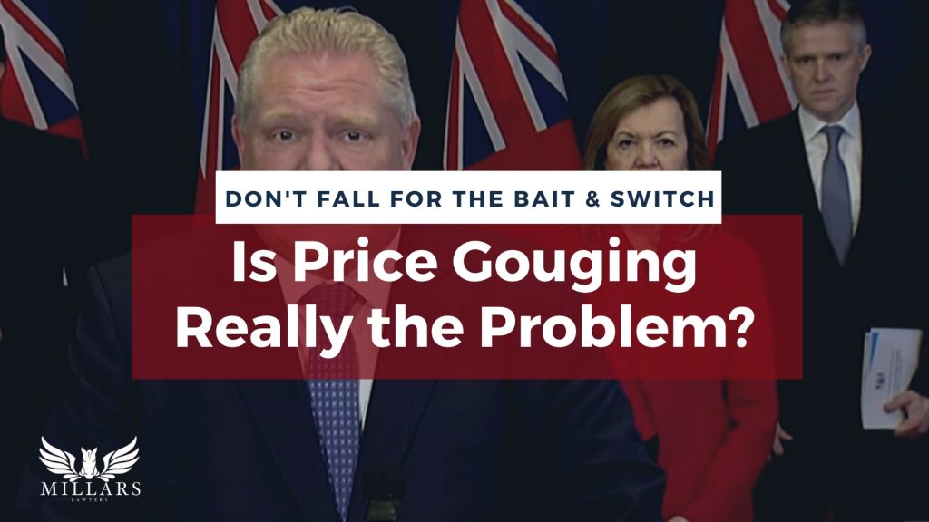 Don't fall for the Bait and Switch: Is Price Gauging Really the Problem