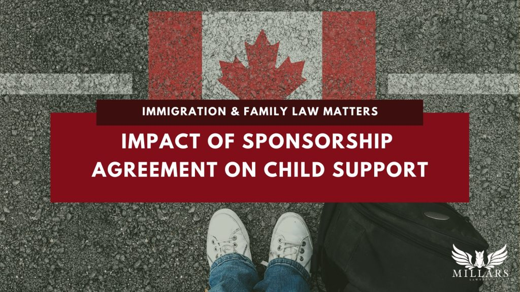 Impact of Sponsorship Agreement on Child Support