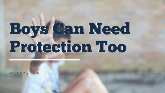 Boys Can Need Protection Too