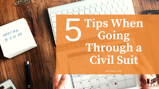 Top 5 'Must-Know' Tips When Going Through a Civil Suit
