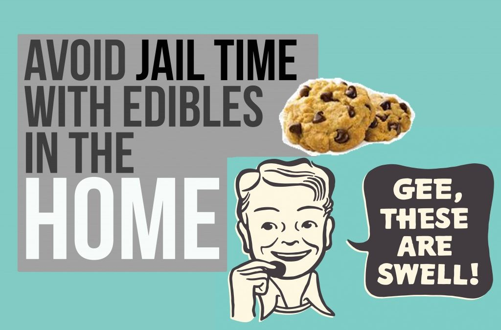 Avoid Jail time with Edibles in the Home