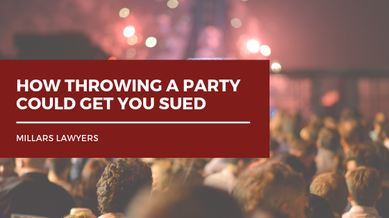 How Throwing a Party Could Get You Sued