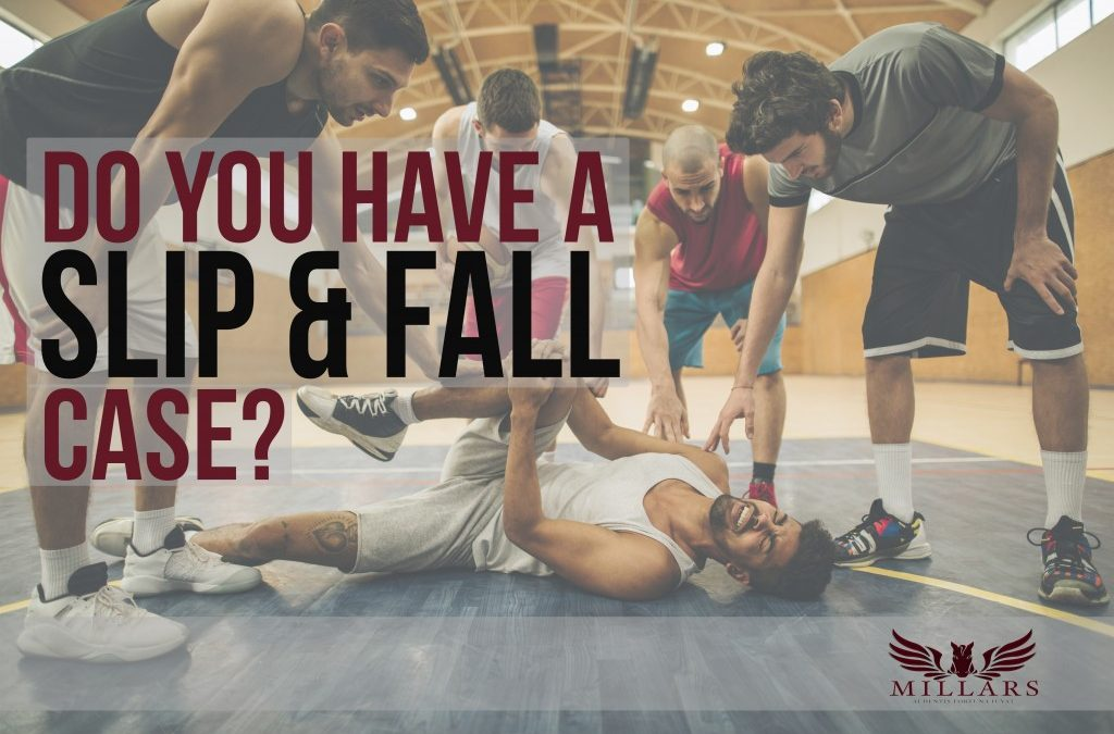 How to Know If You Have a Slip & Fall Case