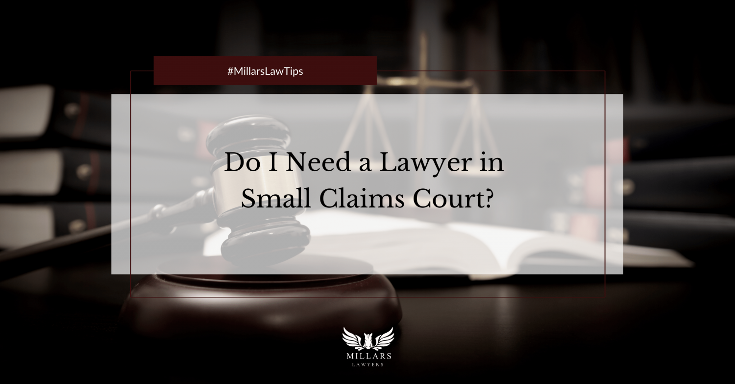 Do I Need a Lawyer in Small Claims Court?